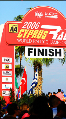 WRC Cyprus Rally 2006 Finish