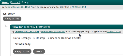 Slashdot essense