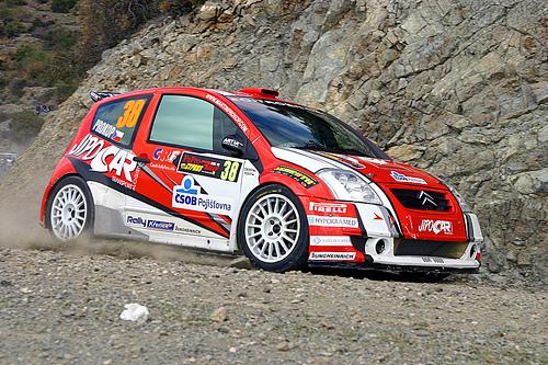 Fxpro Cyprus Rally Shakedown