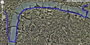London walking map