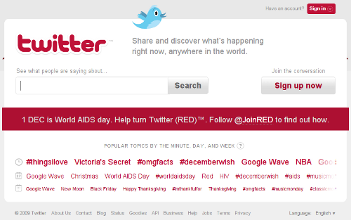 Red Twitter