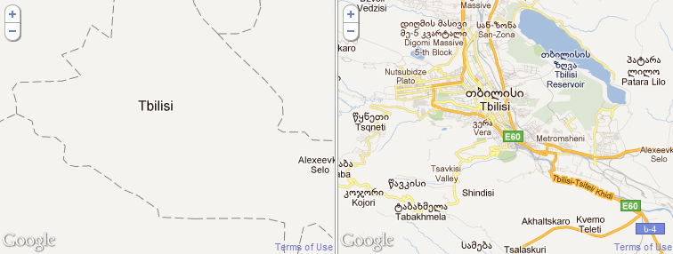 Google Map Of Georgia.Google Map Maker Wisdom Of A Crowd Blog Of Leonid Mamchenkov