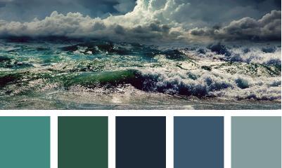 Storming hues