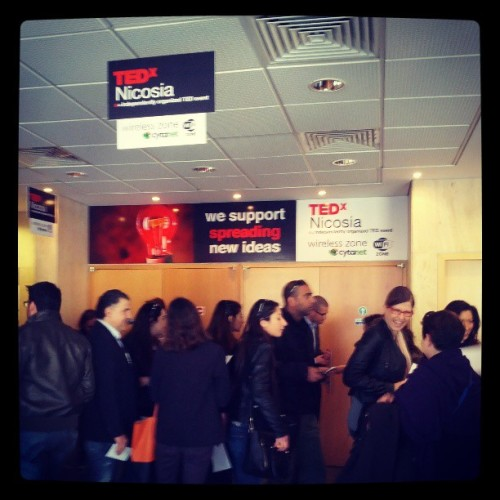 People gathering up at #TEDxNicosia