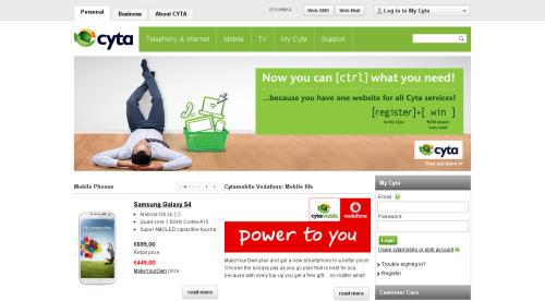 cyta website