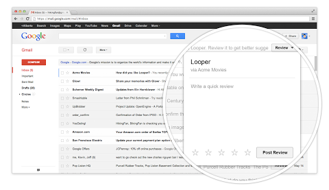 gmail actions