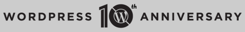 wordpress 10 years old