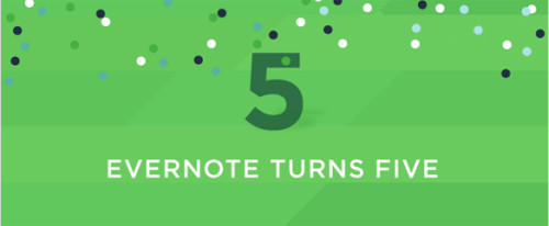 evernote 5 years old