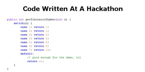 hackathon code