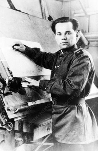 Mikhail Kalashnikov in 1949
