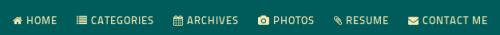 main menu icons