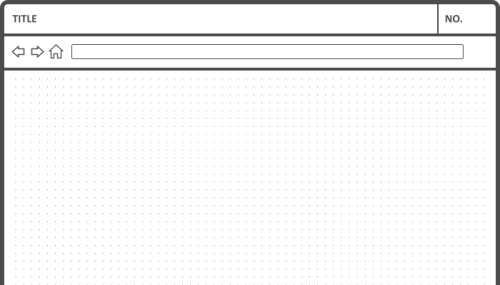 web browser template