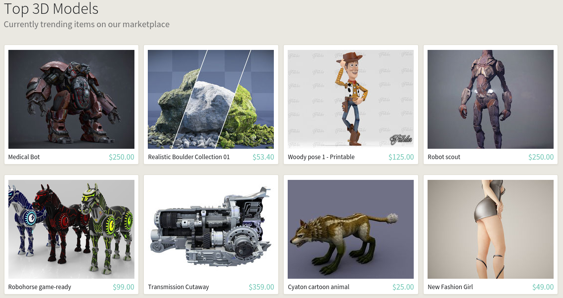 CGTrader – 3D Model Marketplace | Blog of Leonid Mamchenkov