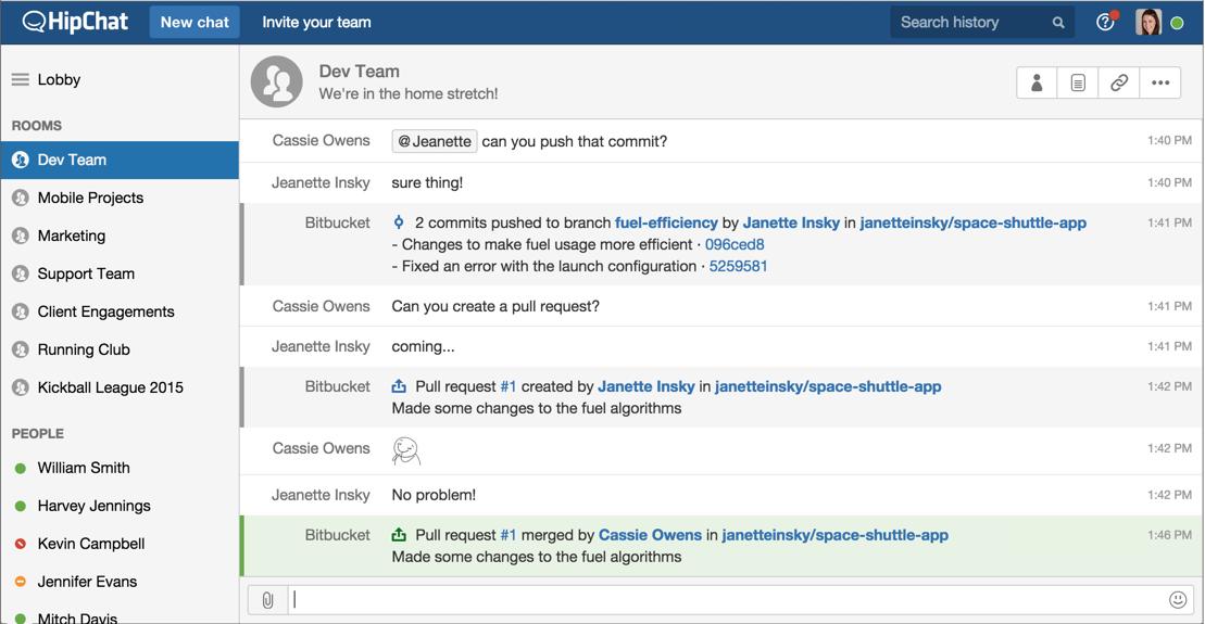 HipChat releases the new web interface to the world | Blog ...