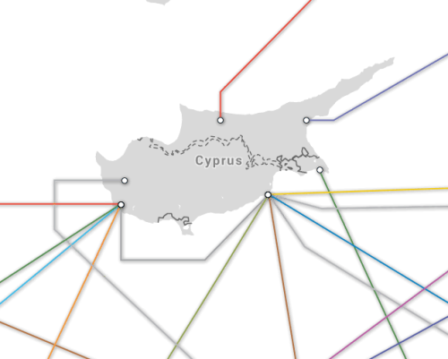 Cyprus submarine cables