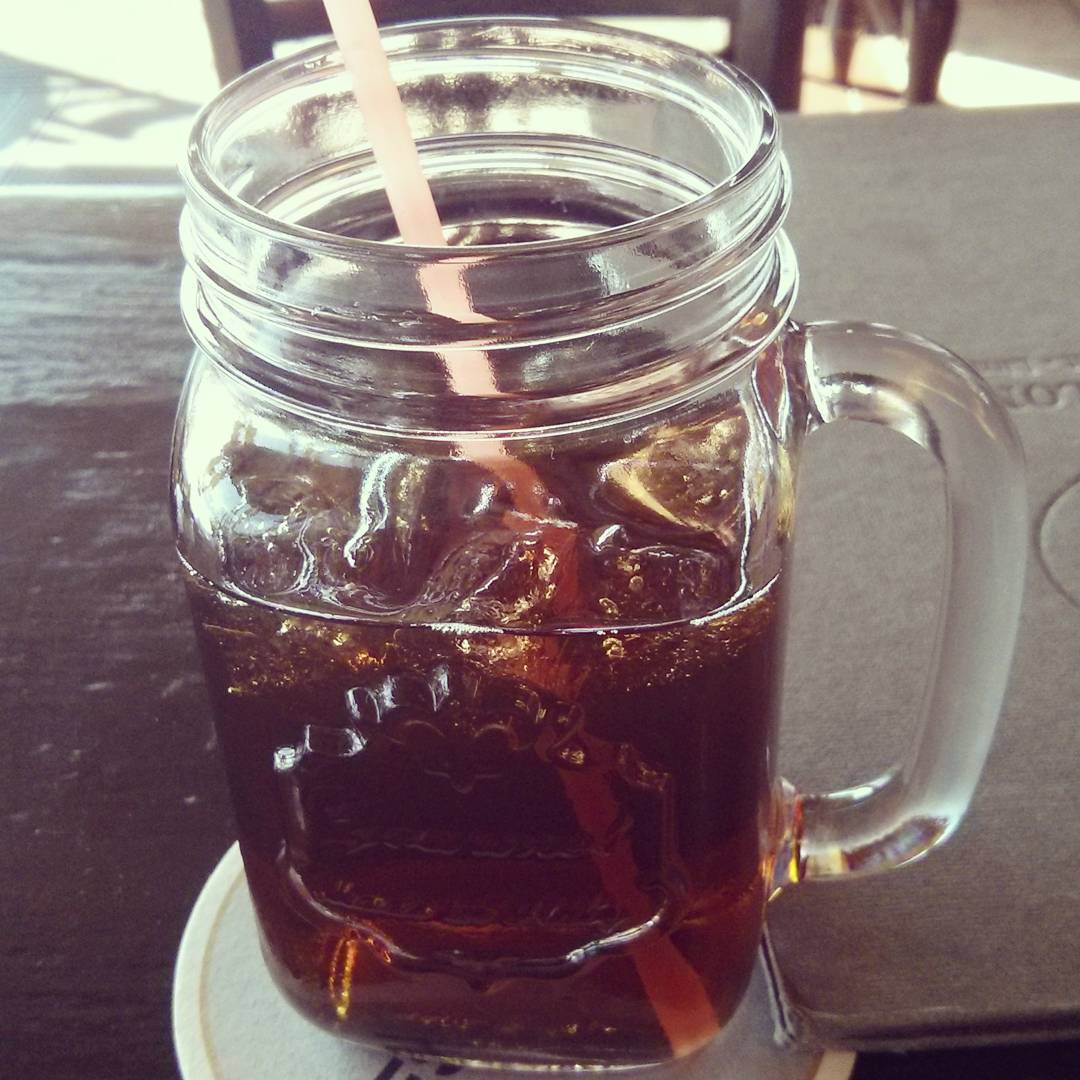 Ice tea jar  style