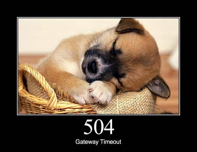 504 Gateway Timeout error on Nginx + FastCGI (php-fpm) | Blog of