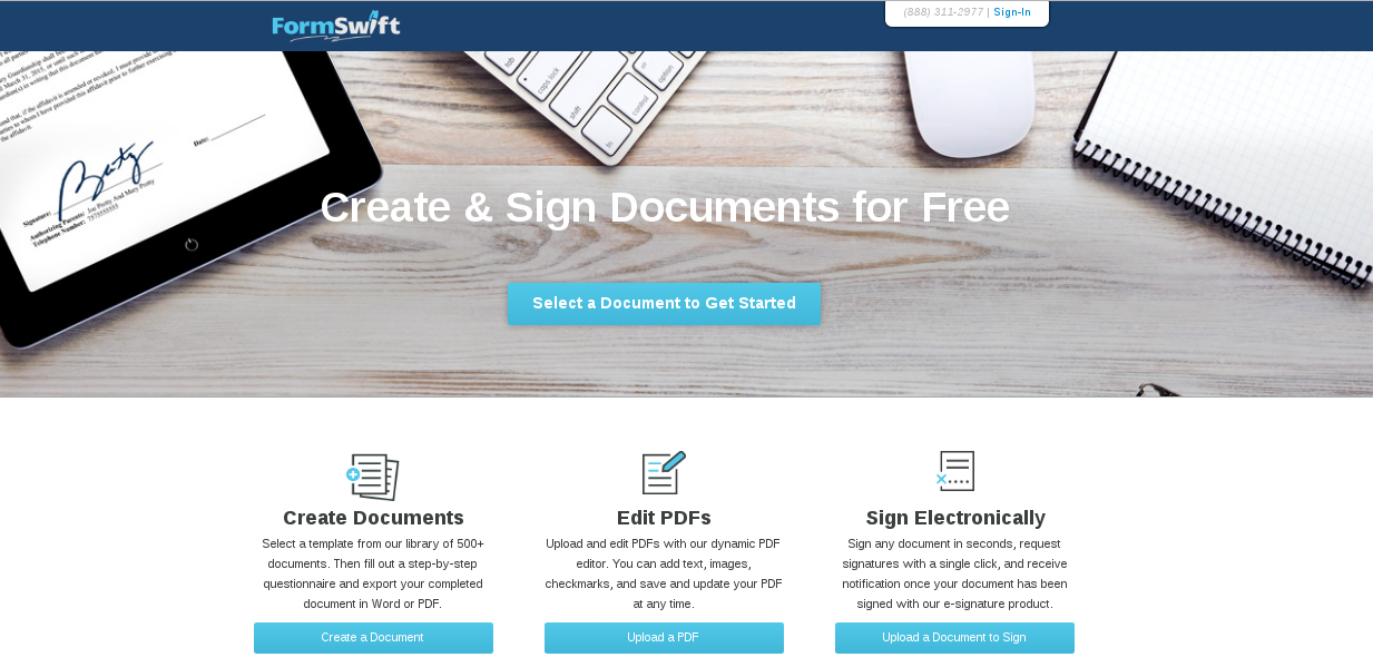 FormSwift – create and sign legal documents for free | Blog of ...