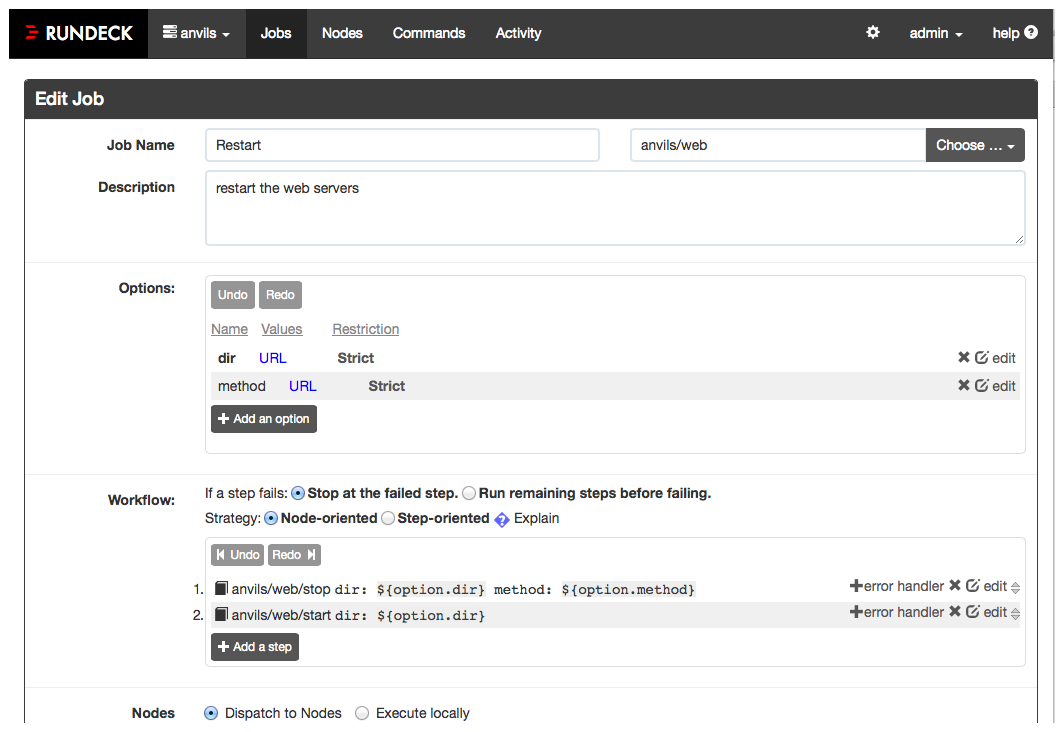 Rundeck – Job Scheduler and Runbook Automation | Blog of Leonid