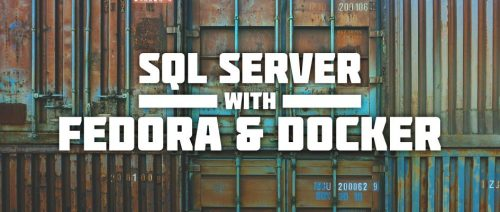 MS SQL Server and Docker