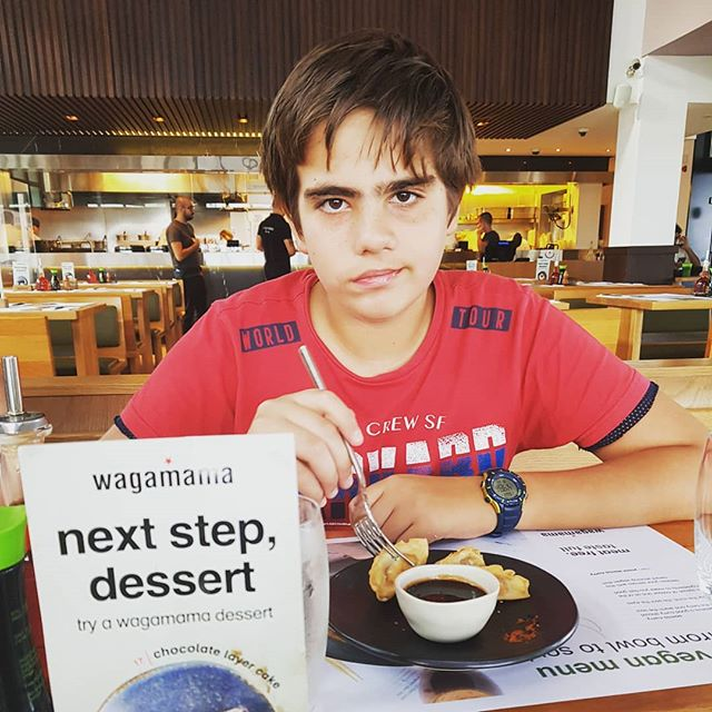 Next step @wagamama_cyprus