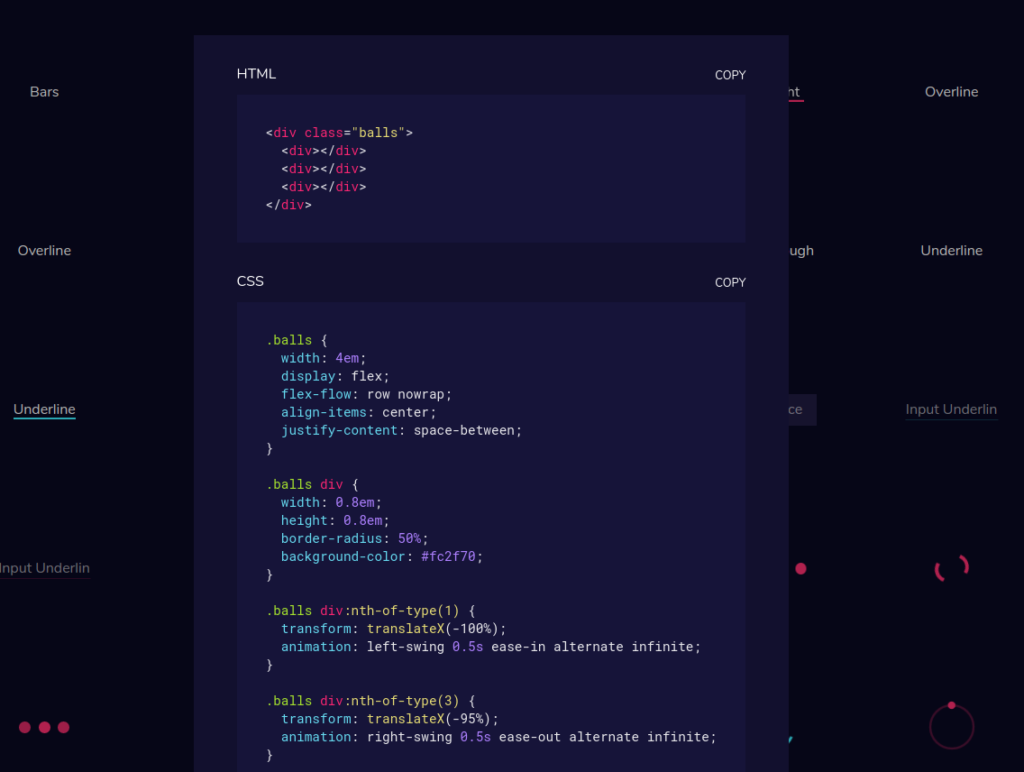 CSSFX – beautifully simple click-to-copy CSS effects | Blog of
