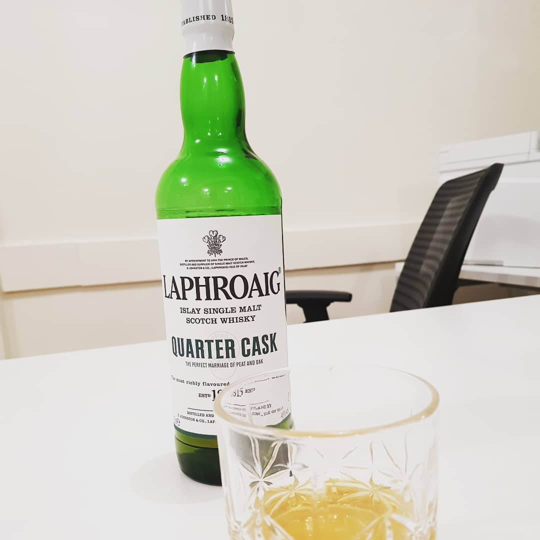 Happy Friday with Laphroaig